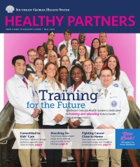 SGHS Healthy Partners Magazine Fall 2013 Edition